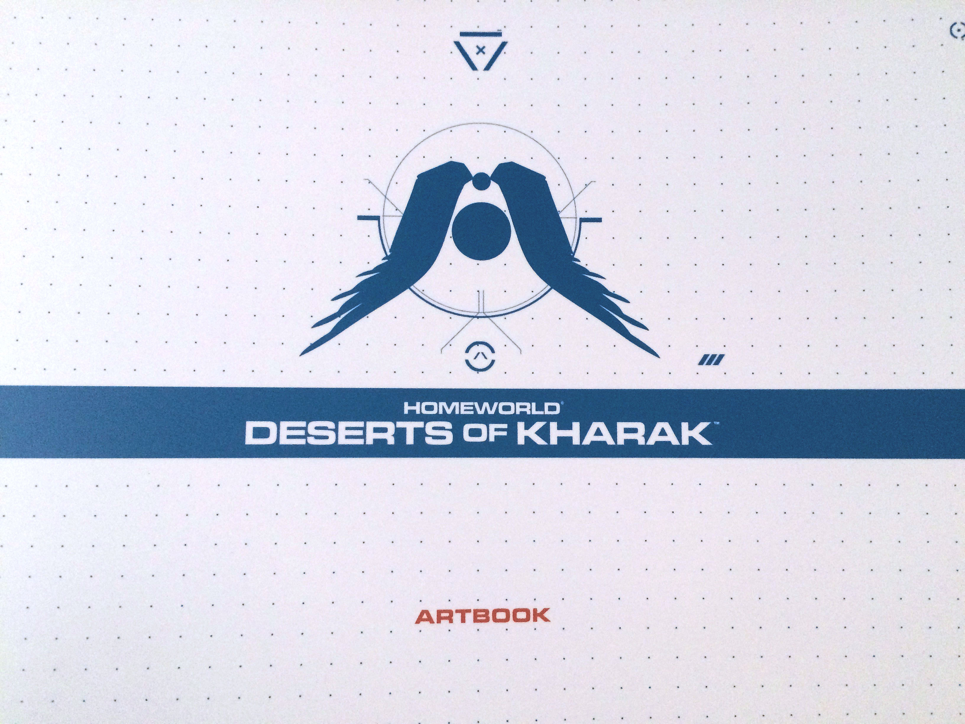 Homeworld Deserts of Kharak Collector's Edition Art Book