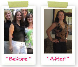 chick of the month,bootcamp weight loss success story, before and after