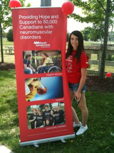 FIT CHICKS muscular Dystrophy walk to raise awareness