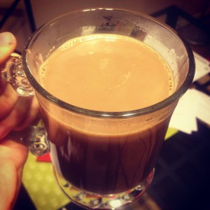 healthy hot chocolate raw cacao