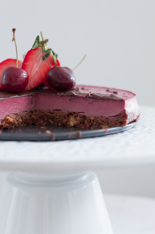 Medium Of Strawberry Mousse Cake