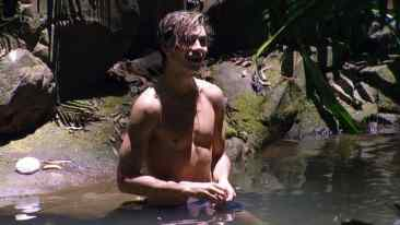 George Shelley Shirtless in Im A Celebrity, Get Me Out Of Here image