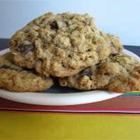MY oatmeal chocolate chip cookies