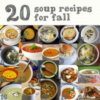20 soup recipes for fall