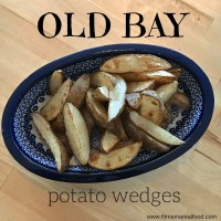 old bay potato wedges