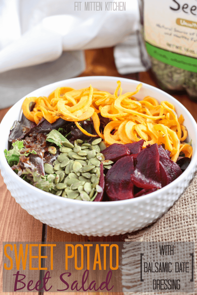 Sweet Potato Beet Salad [Fit Mitten Kitchen]