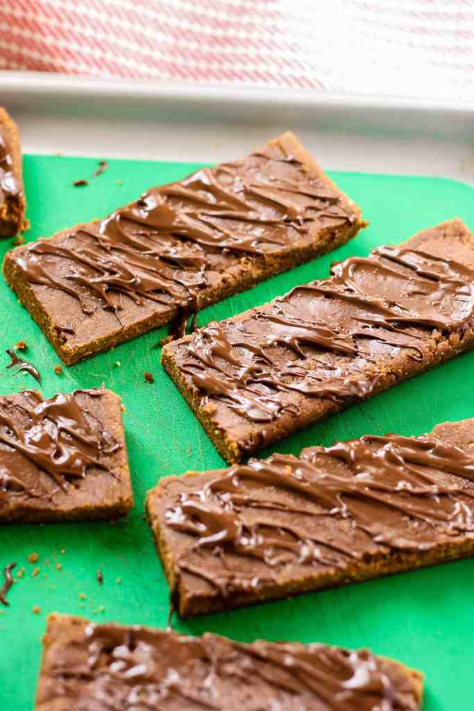 No-Bake Gingerbread Protein Bars [Fit Mitten Kitchen]