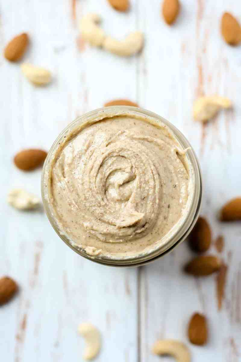 Chai Spiced Almond Cashew Butter