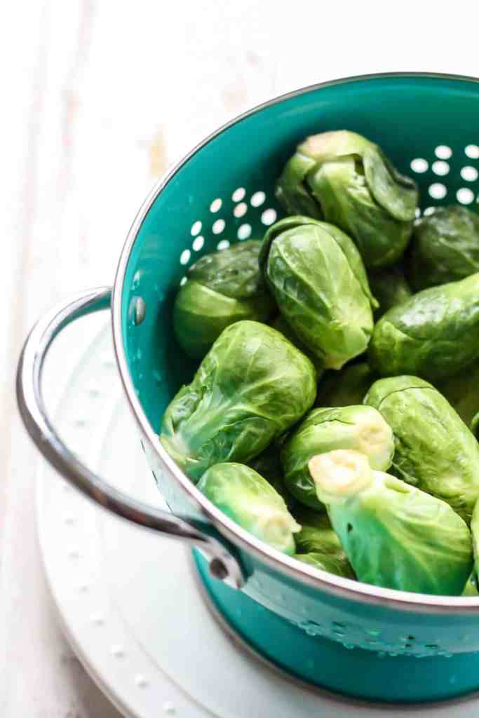 Stovetop Shredded Brussels Sprouts with Lemon Pepper Cashew Dressing ...