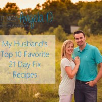 My Husband's Top 10 21 Day Fix Recipes