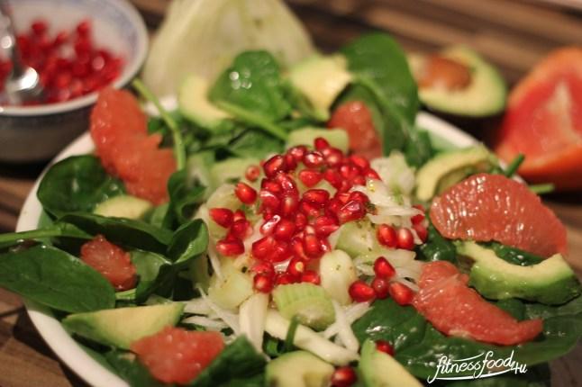 Fenchelsalat Granatapfel