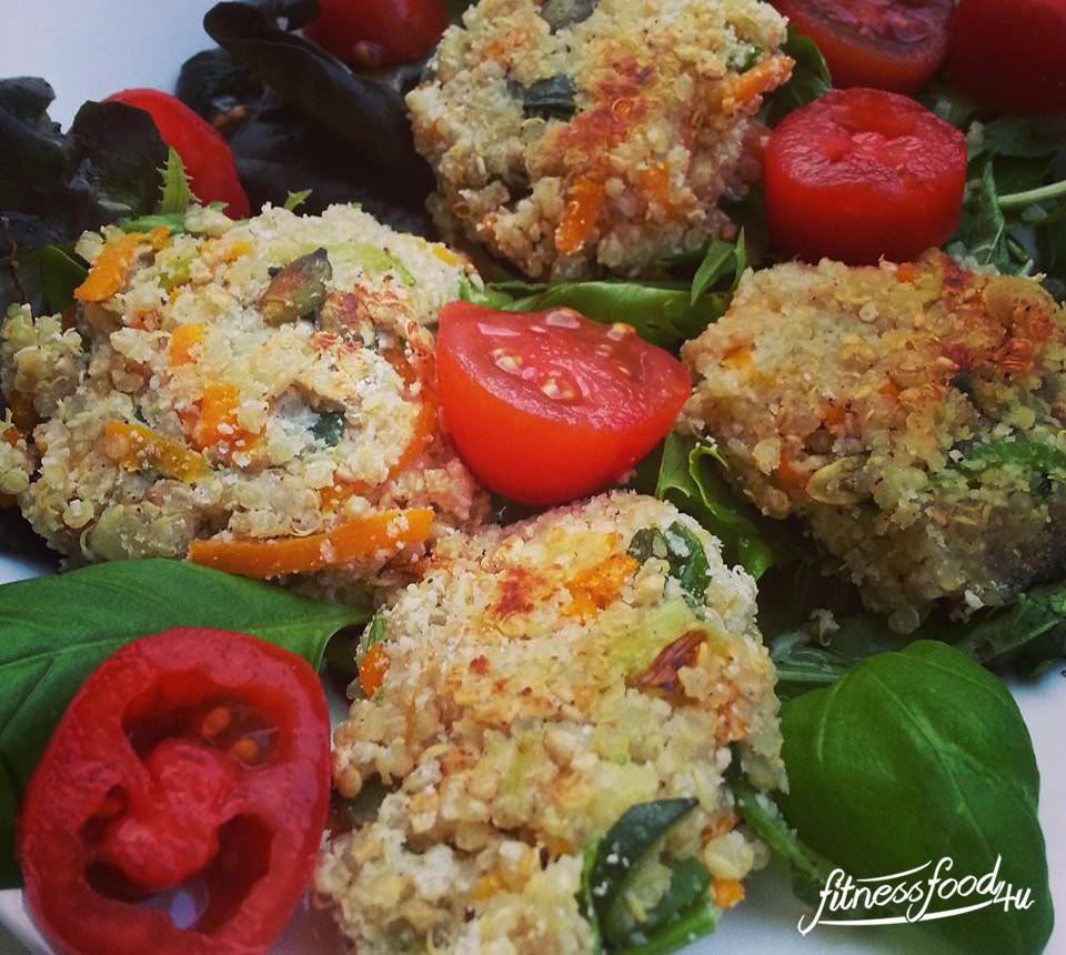 Vegane Fitness Buletten – Quinoa Bratlinge