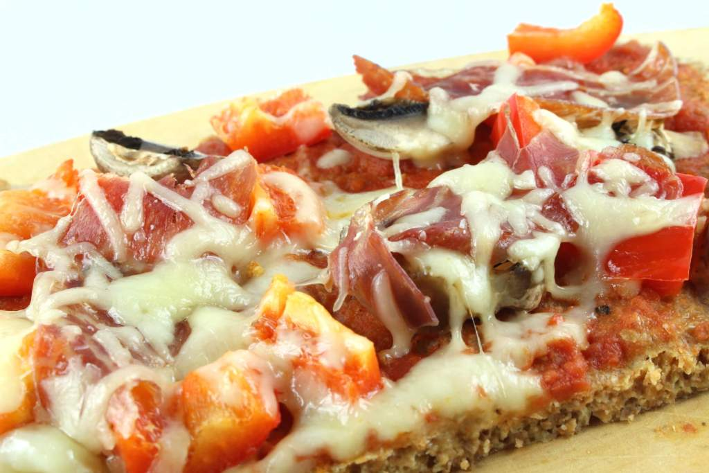 Low Carb Pizza Schinken-Käse