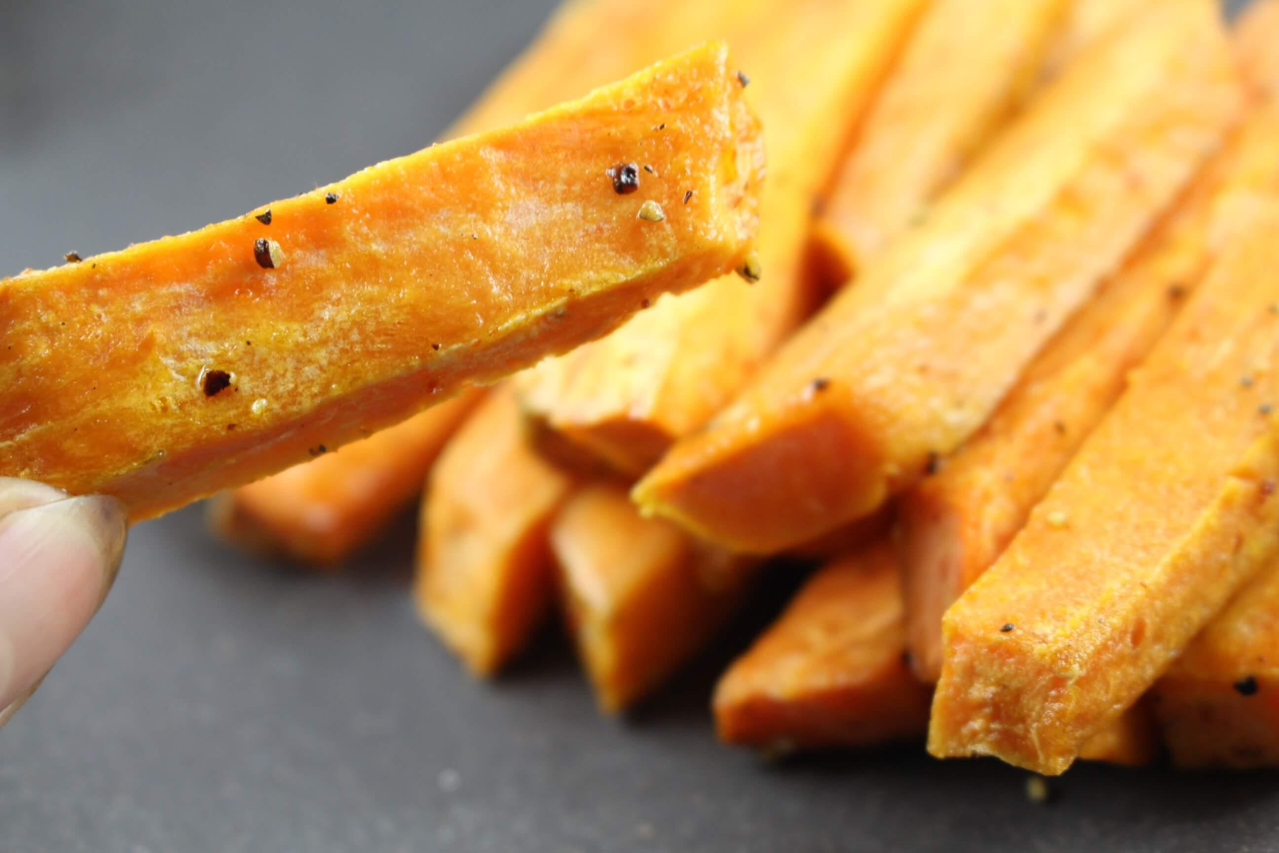 Süßkartoffel Pommes Gesund Und Lecker Fitnessfood4u