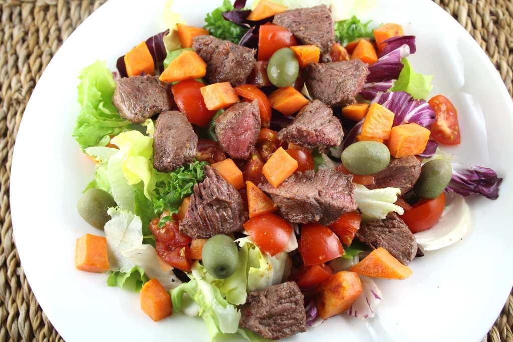 Salat mit Lamm-Medaillons von Silver Fern Farms
