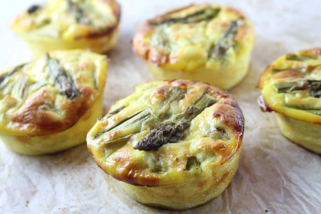 Low Carb Spargel Muffins