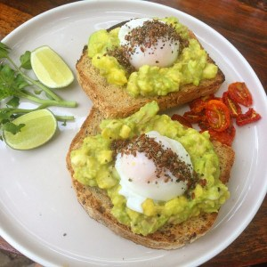 Avocado Toast - healthy food guide Bali, Canggu