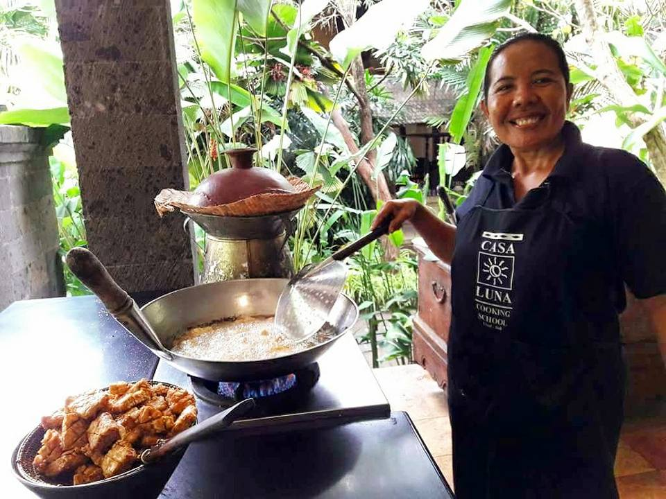 Guide Ubud - Casa Luna Cooking School - tempeh