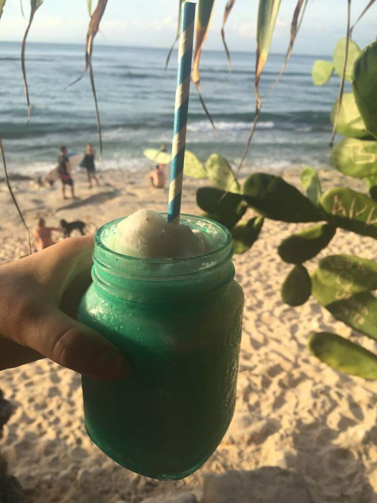 healthy food guide - Kelly's Warung, Bingin Beach - Bali