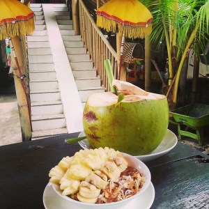 healthy food Guide Bali Canggu - serenity yoga
