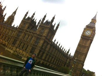 Fitzmagic at Big Ben and the Houses of Parliament.