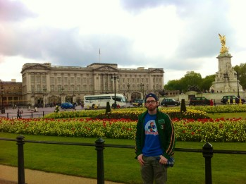 Fitzmagic at Buckingham Palace.
