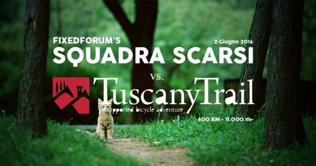 Squadra Scarsi vs. Tuscany Trail
