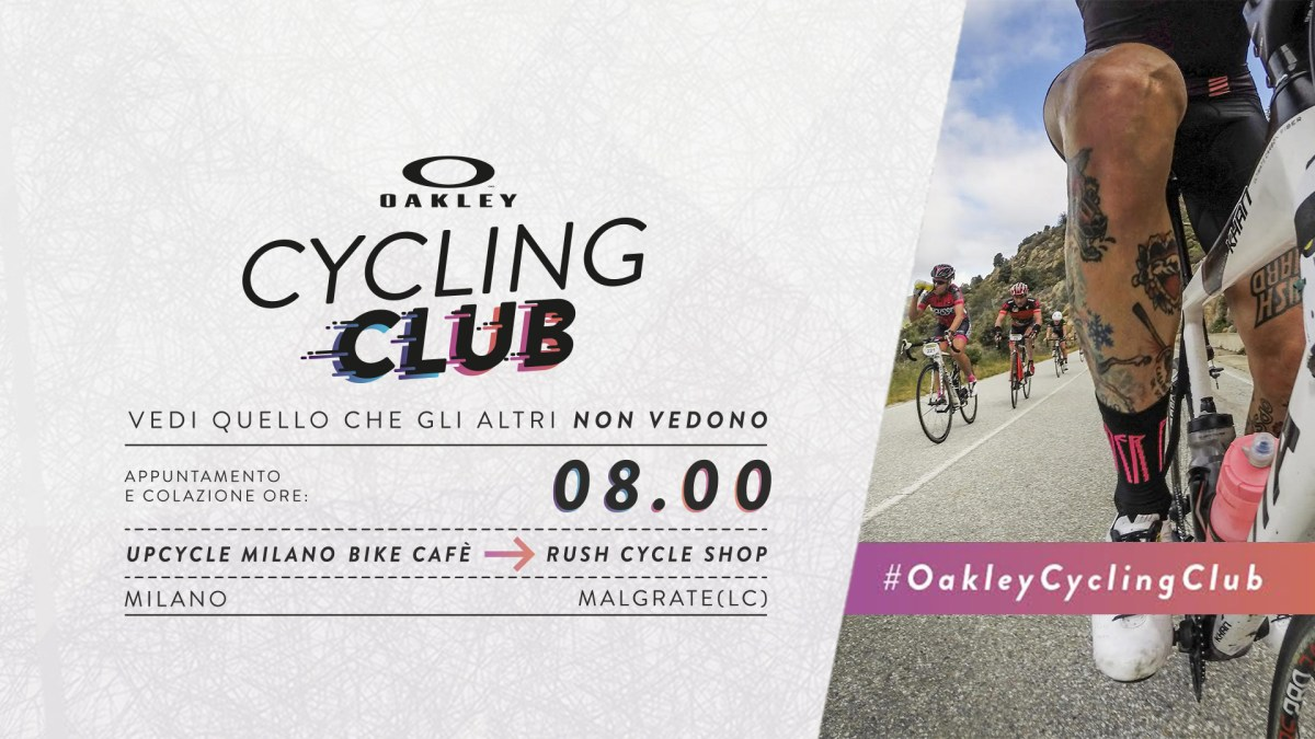 Oakley Cycling Club: 19 Giugno 2016