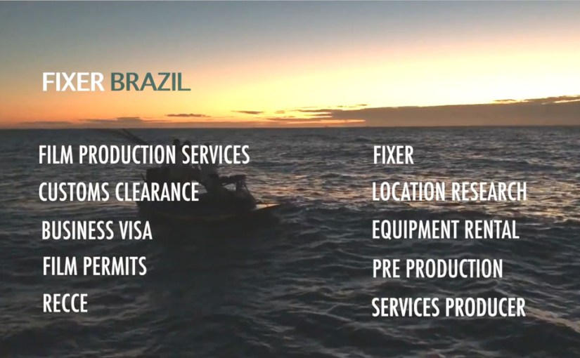 Customs clearance – admission of filming equipment in Brazil.