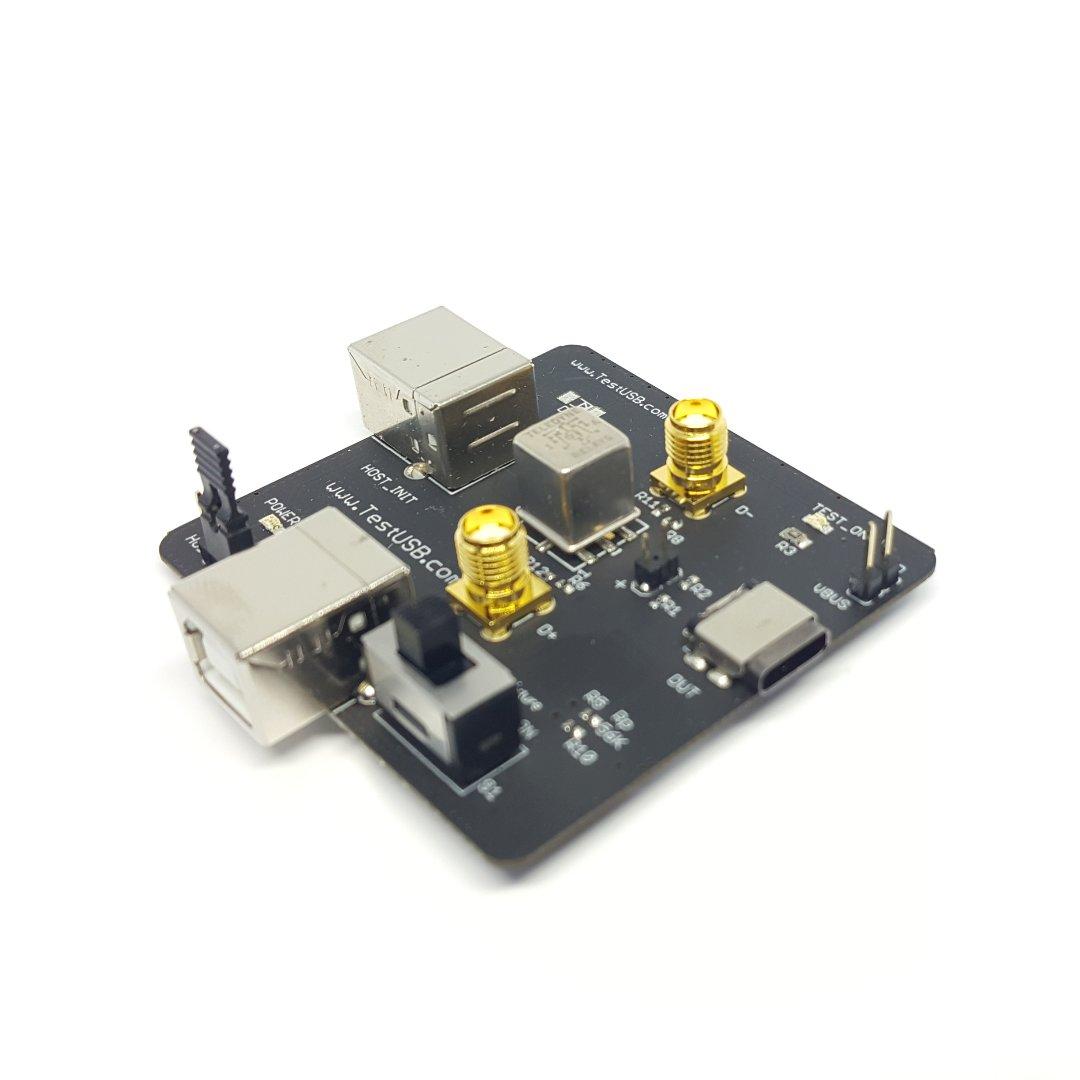 USB 2.0 High Speed Receiver sensitivity