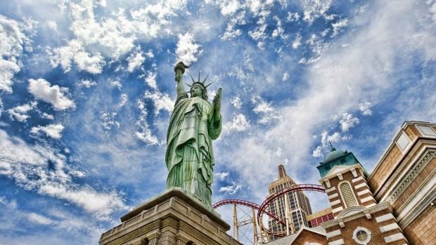 amazing cityscape photography wallpaper HD liberty statue