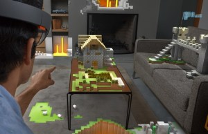 Microsoft HoloLens Augmented Reality Headset Unveiled