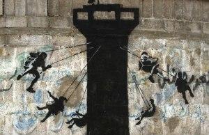 Banksy in gaza