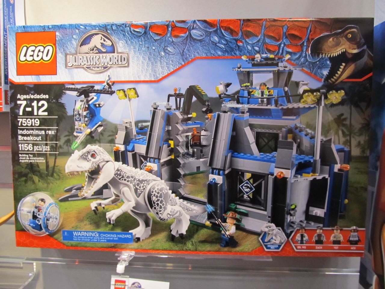 Toy fair 2015 five new jurassic world lego sets - Jurasic park lego ...