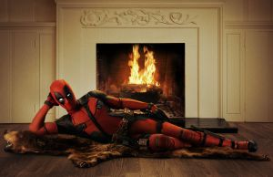 Deadpool suit