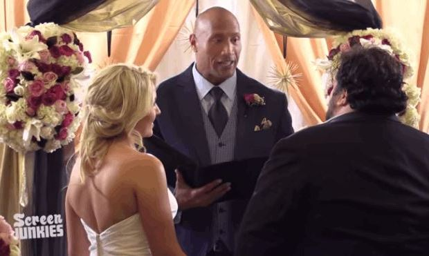 Dwayne Johnson's Fan Wedding Surprise