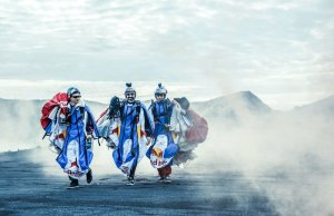 Insane Wingsuit Flying Over Active Volcanoes in Indonesia By Red Bull Skydive Team