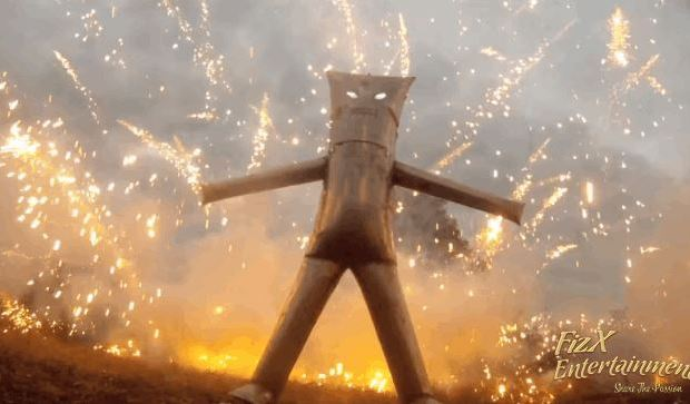 Watch a Budget DIY Iron Man Suit Survive a Storm of Fireworks