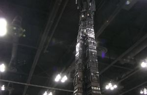 8-Foot-Tall LEGO Version of The Tower of Orthanc