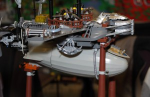 Steampunk LEGO Build Designs