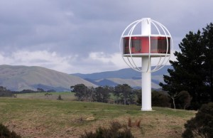 Solar-Powered Treehouse With 360-Degree Views And Cold beer