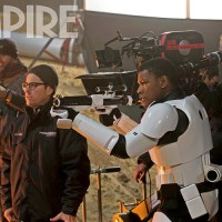 STAR WARS: THE FORCE AWAKENS Photos and BB-8 Cover