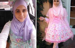 Muslim Lolita Fashion Inspired by Japan