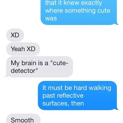 People Who Aced Flirting by Text