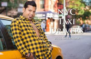 2016 Sexy New York Taxi Drivers Calendar