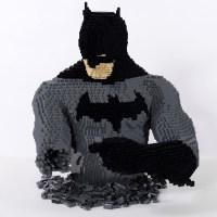 Full-Sized LEGO DC Comics Characters