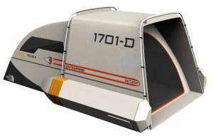 Star Trek Federation Shuttlecraft Tent