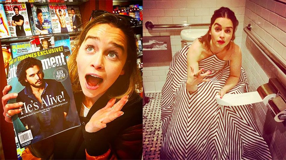 21 Times 'Game of Thrones' Star Emilia Clarke Owns The Instagram