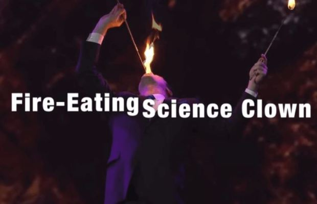 Physics Behind Eating Fire