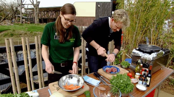 Gordon Ramsay Cooks Steak For A Vegetarian Because No One Can Stop Him